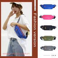 Waterproof Oxford Waist Bag Women Men Outdoor Sports Fanny Chest Belt Pack Pouch