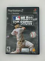 MLB 09: The Show - Playstation 2 PS2 Game - Complete & Tested
