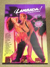 LAMBADA Original DANCE Movie Poster J EDDIE PECK MELORA HARDIN ADOLFO QUINONES