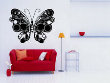 Vinyl Sticker Batterfly Ornament Insect Nature Mural Decal Wall Art Decor hi315