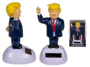 Nouveauté Solaire Dansant Président Donald Trump, Maison Ou Voiture Tableau