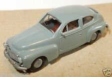 RARE PRALINE HO 1/87  VOLVO PV 544 GRISE INTERIEUR ROUGE
