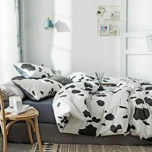 Cotton Bedding Set Kids Adults Bed linen Single Double Queen king size Quality
