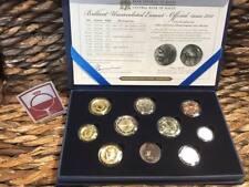 MALTA 2011 B.U.set   MALTESE EURO COIN COLLECTION   Met 2 Euro Commemorative