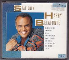 HARRY BELAFONTE - STATIONEN - 2 CD BOX FAT BOX EMI © 1990 GERMANY