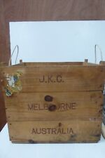 VINTAGE WOODEN WINE SPAIN WINERY SHERRY BOX CRATE MELBOURNE AUSTRALIA BAR