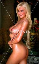 1990s NUDE 8X10 BUSTY BIG NIPPLES MICHELLE MARSH PHOTO FROM ORIGINAL NEG-MM4