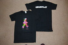 COLDPLAY BLURRED MAN LOGO T SHIRT NEW OFFICIAL CHRIS MARTIN MYLO XYLOTO X&Y