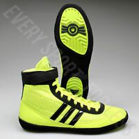 Adidas Combat Speed 4 Wrestling Shoes S77933 -Solar Yellow/Black (NEW) Lists@$82