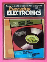 EVERYDAY ELECTRONICS - Magazine - Stereo Record Player - February 1982