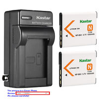Kastar Battery Wall Charger for Sony NP-BN1 BN1 Sony Type N Sony BC-CSN BC-CSNB