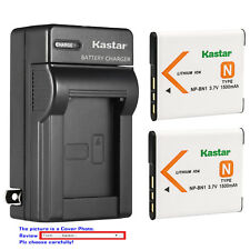 Kastar Battery Wall Charger for Sony NP-BN1 BC-CSN & Sony Cyber-shot DSC-W620