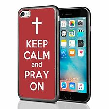 Red Keep Calm and Pray On For Iphone 7 (2016) & Iphone 8 (2017) Case Cover