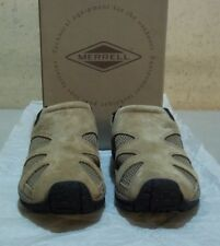 New Merrell #60973 7 M taupe nubuck leather/nylon (5852)