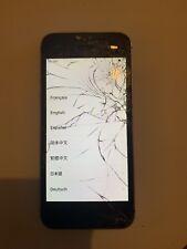 Apple iPhone SE - 64 Go - Gris Sidéral (Désimlocké) Écran Cassé
