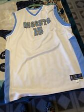 Reebok Carmelo Anthony Denver Nuggets NBA Jersey - Authentic White 60