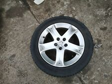 PEUGEOT 407 03-10 ALLOY WHEEL WITH TYRE 5 STUD 215/55R17 181039 1.6MM