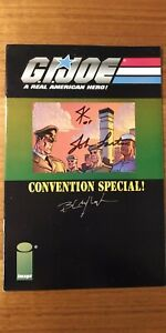 G.I. Joe A Real American Hero Convention Special Signed by Blaylock/Kurth/Larter
