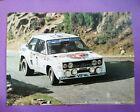 altes Poster Walter Röhrl Geistdorfer Rallye Weltmeister Fiat 131 Abarth 40x54cm