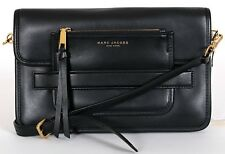 MARC JACOBS New York Black Madison Large Shoulder HANDBAG New