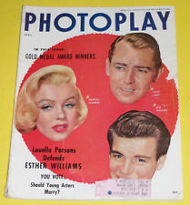 Photoplay Magazine April 1954 M. Monroe, A. Ladd, & R. Wagner cover Nice Pics!