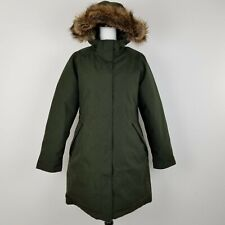 The North Face Women's Coat XL Arctic Down Parka Green Waterproof Goose 550 Fill