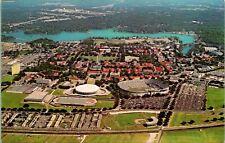 Baton Rouge Lousiana State University Aerial View Postcard unused (13060)