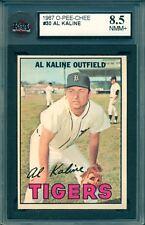 1967 TOPPS OPC O PEE CHEE Baseball #30 AL KALINE KSA 8.5 NM-MINT Detroit Tigers