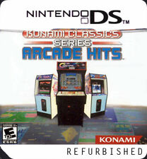 Konami Classics Series: Arcade Hits Nintendo DS Replacement Label Sticker