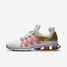Men's Nike Shox Gravity Shoes Vast Grey Blue Metallic Gold Size 12 AQ8553 009