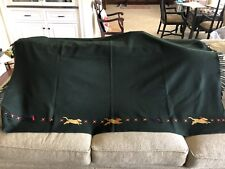 Wool Blanket with Yellow Lab Black Lab by Chandler 4 Corners Laura Megroz