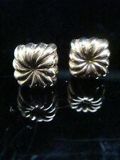 ORIGINALE Edwardian 9 Carati Oro Rosa Orecchini
