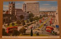 Postcard Unposted Devon, Royal Parade Plymouth