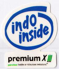indo inside premium 8 Sticker Parotee Marijuana Collectible Funny Decal 420 Ganj