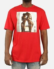 NWT Popular Demand reflection red t shirt size large