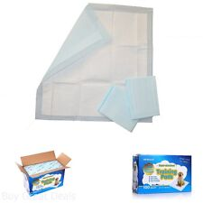 All-Absorb Training Pads, 22In By 23-inch Pads Dogs Litter Supplies 100 Pads