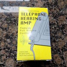 JOBAR'S UNIVERSAL TELEPHONE HEARING AMP