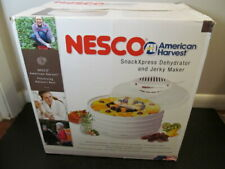 Nesco American Harvest SnackXpress Dehydrator and Jerky Maker FD-37