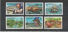 GUERNSEY 1982 LA SOCIETE GUERNESIAISE SG,253-258 UM/M N/H LOT R687