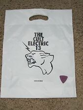 CULT ELETRIC 13  BAG AND GUITAR PICK