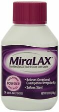MiraLAX Laxative Powder, 8.3 Oz, 14 Daily Doses