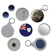 Anguilla Flag Pin Button Badge Magnet Keyring Bottle Opener Mirror