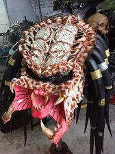 New Classic Predator Motorcycle Helmet  Halloween Fantasy Red Unisex MLXL