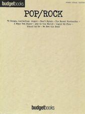 Partition piano voix guitare - Pop & Rock - Budgetbooks