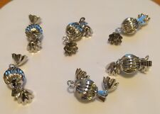 New 6 pcs Stainless Steel Balls Clasps 10 mm