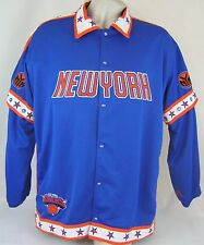 PRE-OWNED MEN'S UNIQUE SPORTS GENERATION KNICKS WARM-UP SUIT SZ: XL