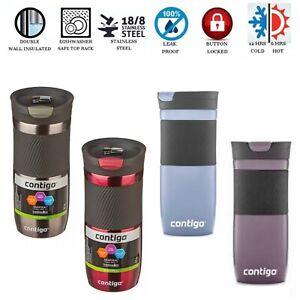 Contigo Byron SnapSeal Stainless Steel Insulated Travel Mug 473ml