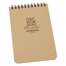 Rite In The Rain Universal Top Spirale Format de poche note book, 4 x 6 pouces, marron