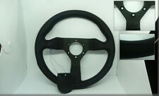 A112 ABARTH FIAT 127 SPORT FIAT UNO TURBO Leather steering wheel MOMO black 32CM