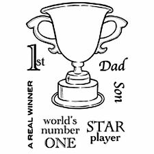 Winning Cup Trophy Clear Stamp Set